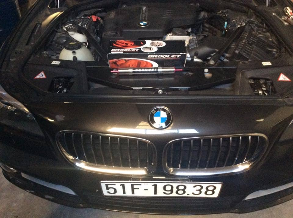 Lắp Broquet In-line cho BMW520i