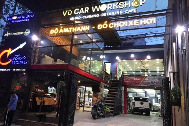 HCM - Quận 10 - VŨ CAR Workshop