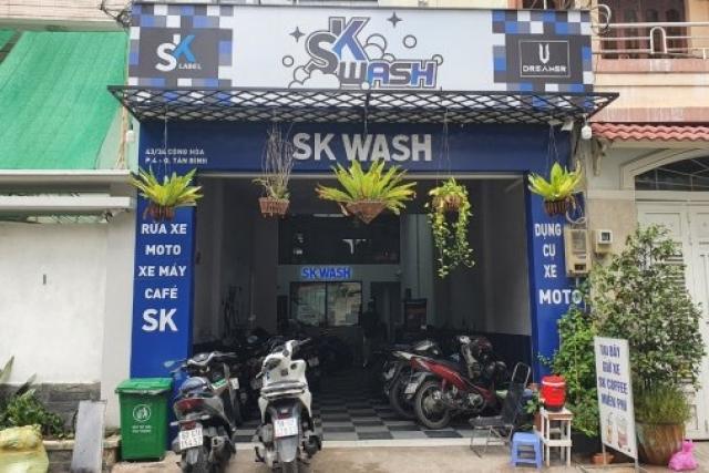 SK WASH-Tiệm Rửa Xe 2 Bánh Chuyên Nghiệp