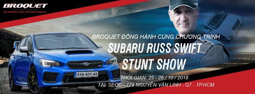 Broquet đồng hành cùng Subaru Russ Swift Stunt Show