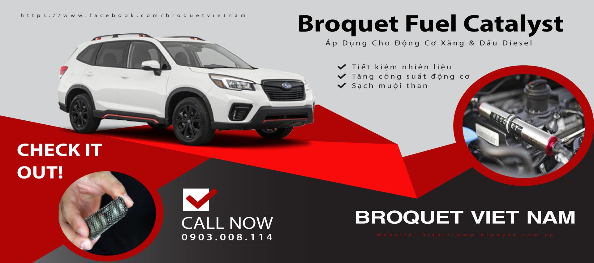 Broquet - Chất xúc tác nhiên liệu Anh